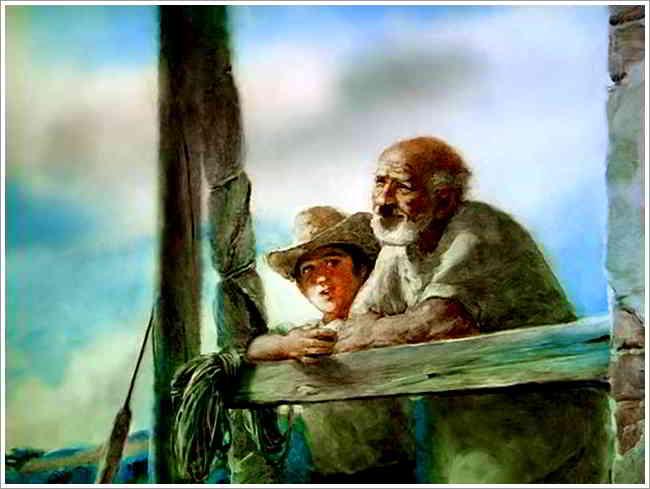 Resultado de imagen para el viejo y el mar gif