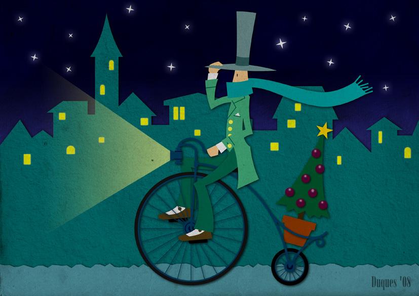 Resultado de imagen de ilustración navidad