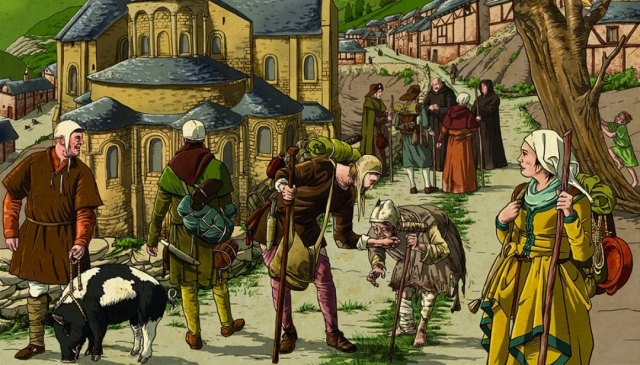 ilustracion-del-camino-de-santiago-en-la-edad-media-chema-roman_5643_p