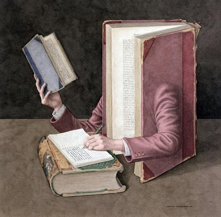 arte-surrealista-cuadros-con-libros_4